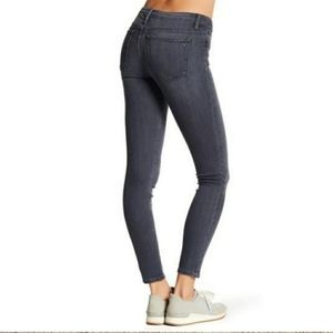 Revolve Black Orchid Jeans Super Skinny Gray Jude Mid Rise Casual Basic Stretch